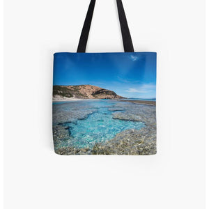 West Beach Reef Pool | Tote Bag | Beach Bag | Shopping Bag
