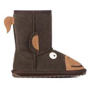 EMU Kids Monkey Tail Sheepskin Boots - LIMITED SIZES - NO RESTOCK