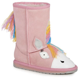EMU Kids Magical Unicorn Sheepskin Boots
