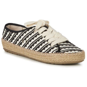 emu australia agonis geo black and white canvas summer shoe
