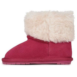 EMU Kids Apsley Walker Pink Sheepskin Boots