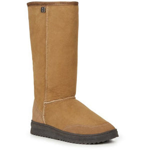 Emu Australia outback hi australian made sheepskin ugg boot tall chestnut