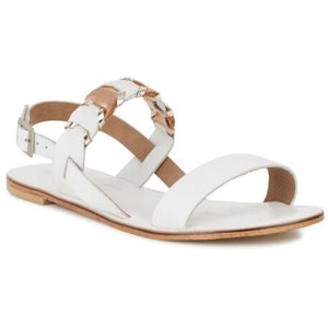 Emu Fig ~ Comfy Leather Sandal ~ Coconut
