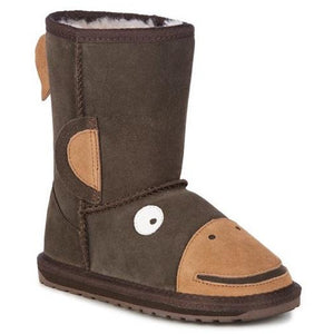 EMU Kids Monkey Tail Sheepskin Boots