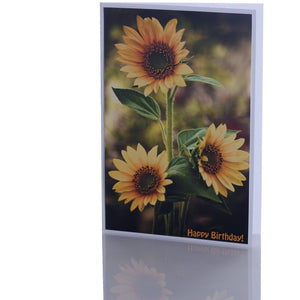 Card - Happy Birthday Sun Flower