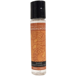 Sandalwood Hand Sanitising Gel 30ml