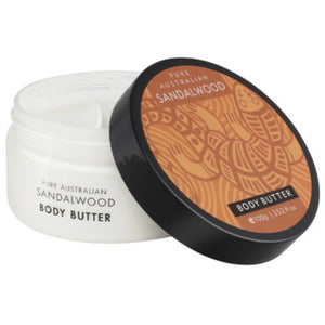 rich and luxurious body butter sandalwood 100ml