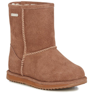 waterproof sheepskin ugg children's boot winter warm