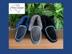 EMU Ridge Australia | Molly Moccasin | Unisex Sheepskin Slipper