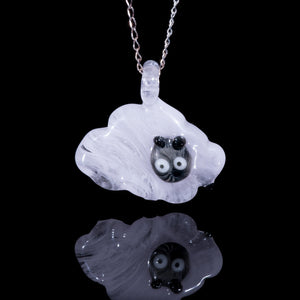 Glass Pendant - Sheep