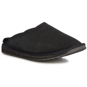 EMU | Esperance Scuff | Sheepskin Slipper | Black