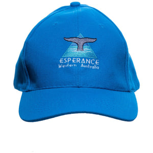 Cap - Whale Tail - Blue