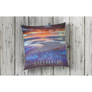 beautiful home decor and decorating cushion throw pillow nautical featuring beach 11 mile eleven mile by photographer Gary Alan
