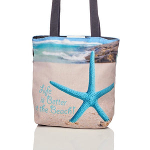 Tote Bag - Life is better at the Beach