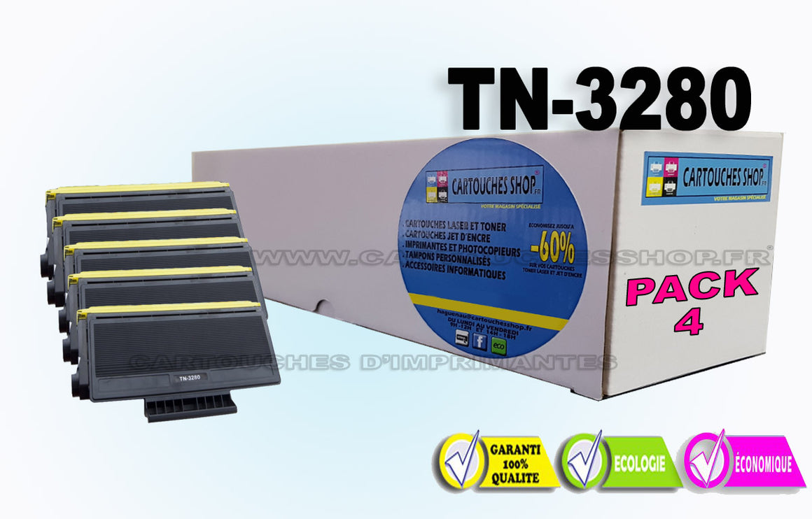 TN3280 PACK X5 BROTHER TN-3280