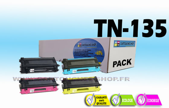TN135 PACK BROTHER TN-135