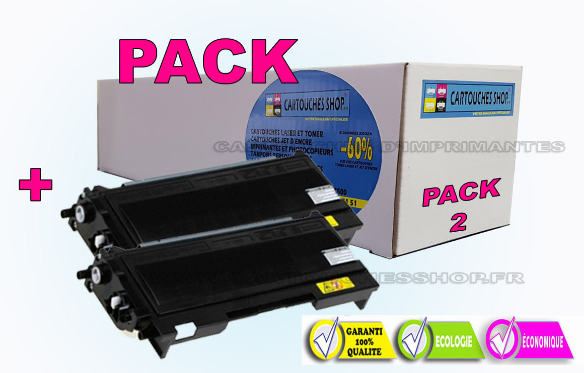 TN 2005 BROTHER TN-2005 PACK DE 2 TONER