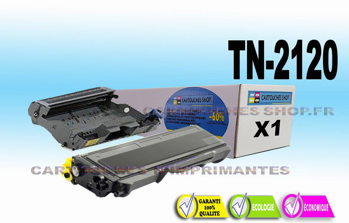 TN2120 + DR2100 BROTHER TN-2120 DR-2100