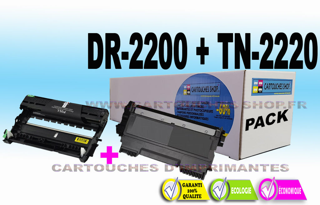 TN2220 + DR2200 BROTHER DR-2200 TN-2220