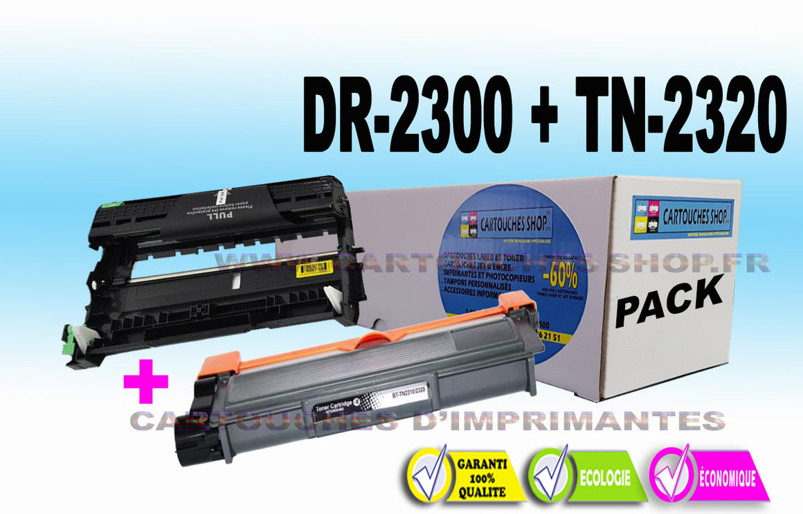 TN2320+ DR2300 BROTHER TN-2320 DR-2300