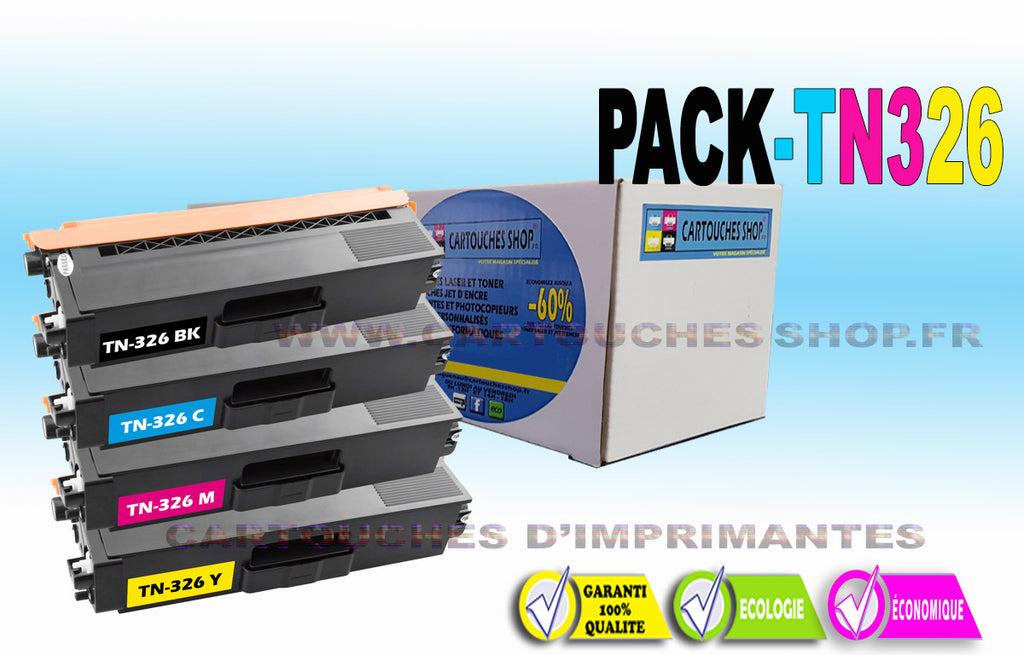 TN326 PACK BROTHER TN-326
