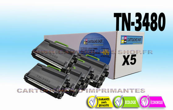 TN3480 BROTHER TN-3480 X5