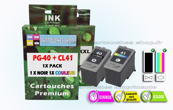 PG40 CL41 PACK CANON PG 40 CL 41