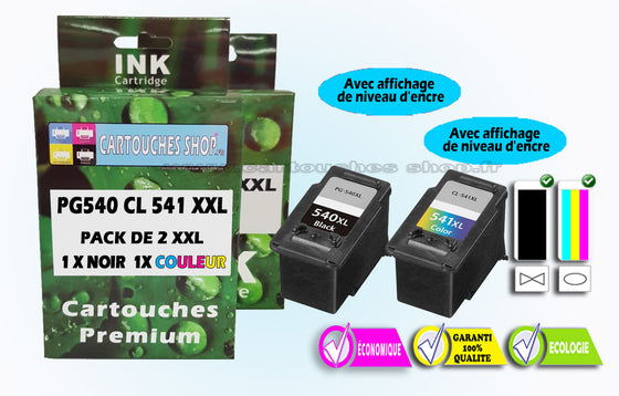 PG540XL + CL 541XL CANON 540XL / 541XL