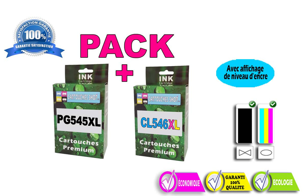 PACK CANON PG-545 XL/CL-546XL PACK