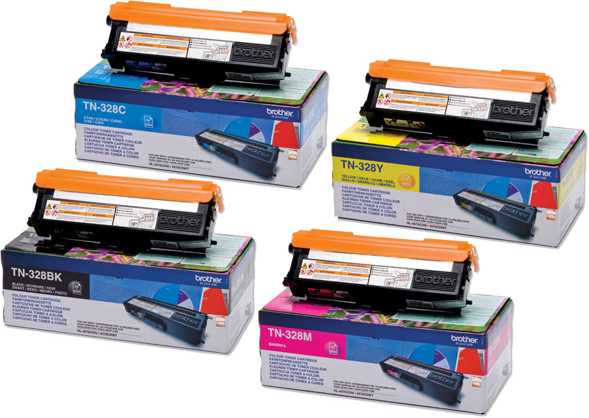 BROTHER TN-328 MULTICOLORE MULTIPACK