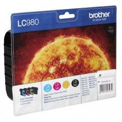 LC980 PACK BROTHER LC-980VALBP