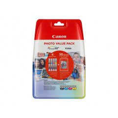 PACK CANON CLI-521 C/M/Y/BK PHOTO VALUE PACK