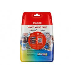 PACK CANON CLI-526 C/M/Y/BK PHOTO VALUE PACK