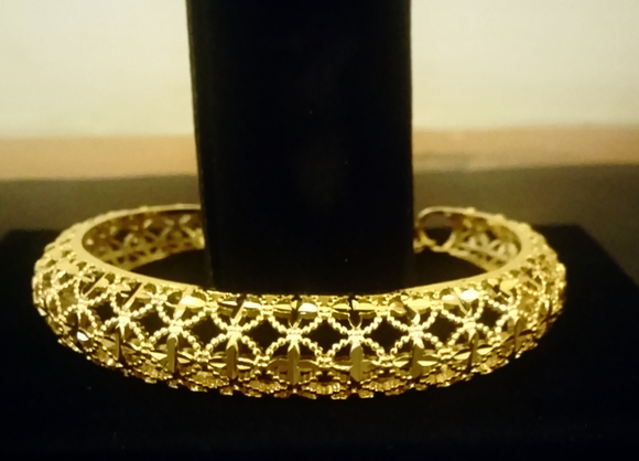 Gold Plated Lace Bracelet for Women