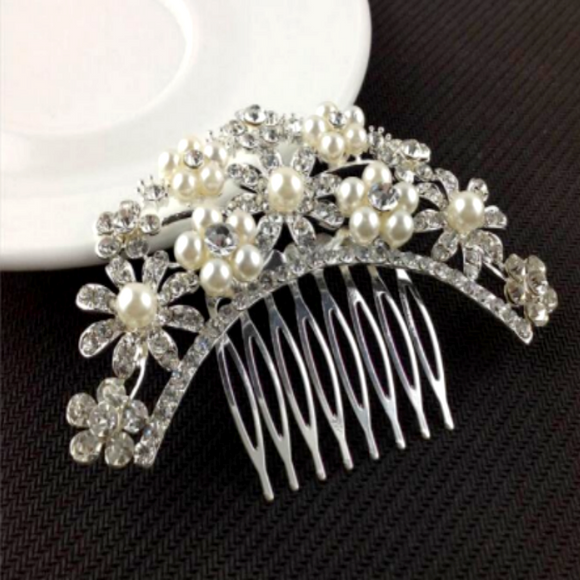 Silver jewelry hair comb online shopping in pakistan