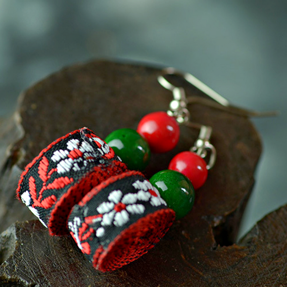 Vibrant Fashion Drop  Earrings