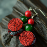 Vibrant Drop  Earrings