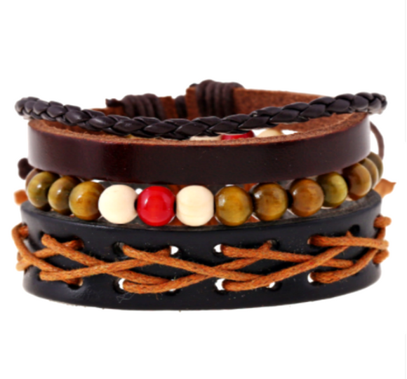 MULTILAYER JANGO BRACELET SET FOR MEN