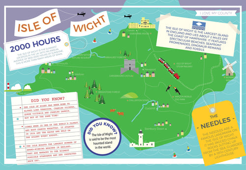 Isle of Wight - I Love My County 400 Piece Jigsaw Puzzle