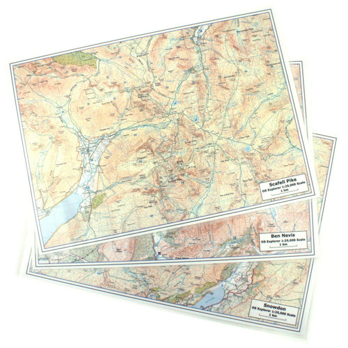 Accessories - Three Peaks Challenge Maps