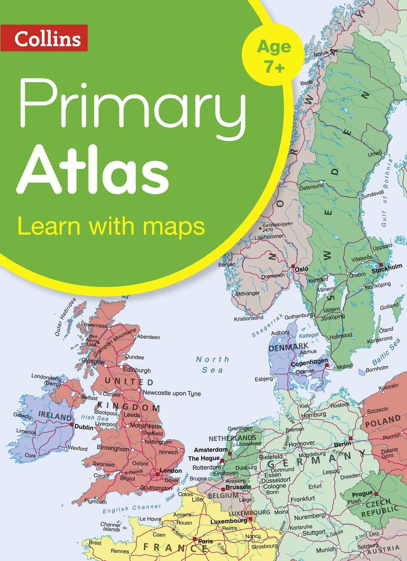Atlases - Collins Primary World Atlas For Children