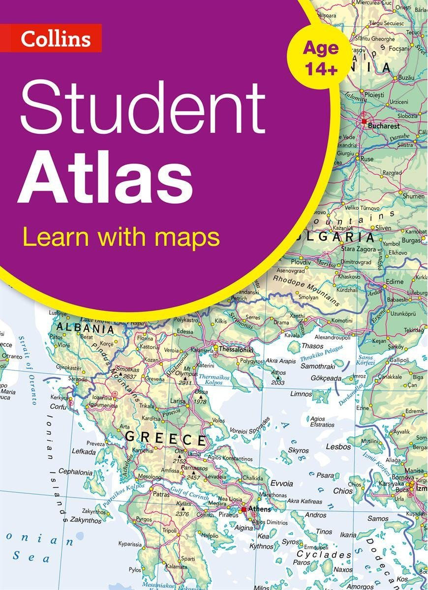 Atlases - Collins Student World Atlas