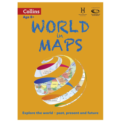 Atlases - Collins World In Maps