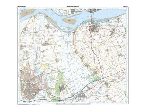 Folded Maps - Ancholme Valley Explorer Map - Ordnance Survey