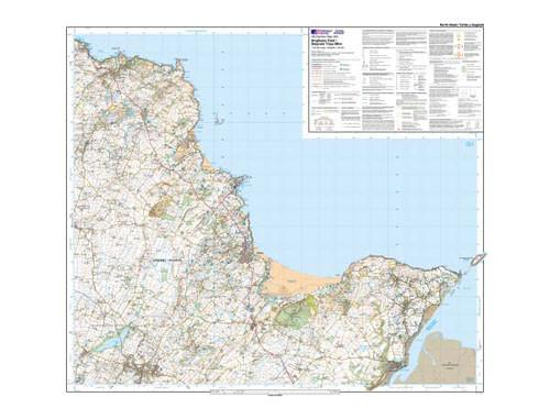 Folded Maps - Anglesey East Explorer Map - Ordnance Survey