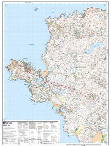 Folded Maps - Anglesey West Explorer Map - Ordnance Survey