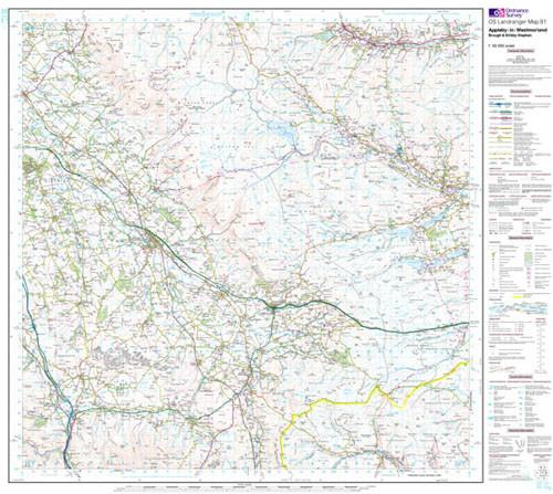 Folded Maps - Appleby-in-Westmorland Landranger Map - Ordnance Survey