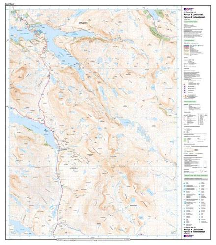 Folded Maps - Assynt Lochinver Explorer Map - Ordnance Survey