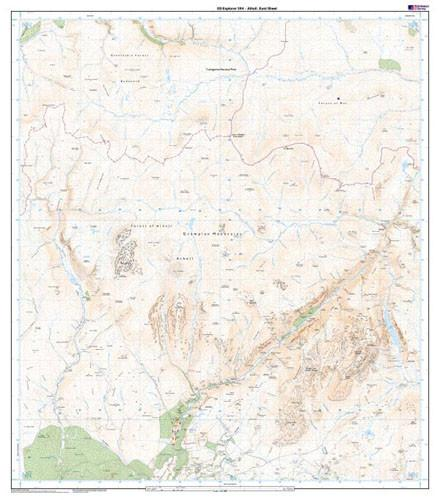 Folded Maps - Atholl Explorer Map - Ordnance Survey