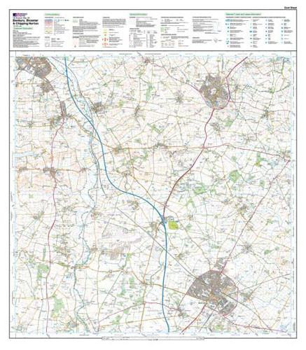 Folded Maps - Banbury Bicester Chipping Norton Explorer Map - Ordnance Survey